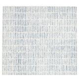 Pottery Barn 5x8 8x10 9X12 Capitola Blue Handtufted Wool Rug Hand Tufted Woolen Area Rug (9'X12')