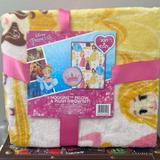 Disney Other | Disney Pillow & Plush Throw Set | Color: black | Size: 40 In X 50 In