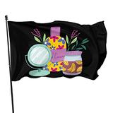 Cosmetics Fashion Beauty Mirror Hand Cream and Skin Cream Flag 3x5 Ft Outdoor Indoor Decor- Polyester 3by5 Flag