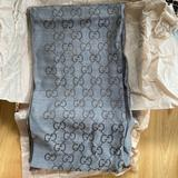 Gucci Accessories | Greg Gucci Scarf New | Color: Brown/Gray | Size: Os