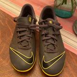 Nike Shoes   Like New Nike Soccer Cleats (3)   Color: Black/Yellow   Size: Kids 3