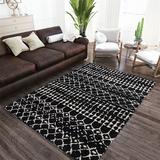 Marquee Rectangle Rug, 8' x 10', Black