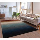Luxe Weavers Lagos Collection 822 Multi 5x7 Abstract Area Rug - 822 Multi 5x7