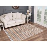 Luxe Weavers Otika Collection Multi 5x7 Abstract Area Rug - 8685 Multi 5x7