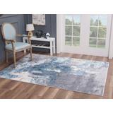 Luxe Weavers Nuvola Collection Grey 5x7 Abstract Area Rug - 8722 Gray 5x7