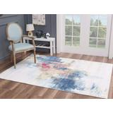Luxe Weavers Nuvola Collection Ivory 8x10 Abstract Area Rug - 8722 Ivory 8x10