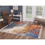 Luxe Weavers Otika Collection Multi 8x10 Abstract Area Rug - 8812 Multi 8x10