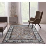 Luxe Weavers Taba Collection Beige 5x7 Abstract Area Rug - 7081 Beige 5x7