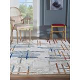 Luxe Weavers Arman Collection Multi 8x10 Abstract Area Rug - 8061 Multi 8x10