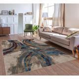 Luxe Weavers Lagos Collection 5070 Multi 8x10 Geometric Area Rug - 5570 Multi 8x10