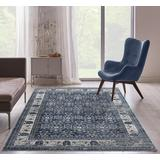 Luxe Weavers Taba Collection Blue 5x7 Abstract Area Rug - 7081 Blue 5x7
