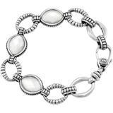 Sterling Silver Mother Of Pearl Oval Link Bracelet At Nordstrom Rack - Metallic - Lagos Bracelets