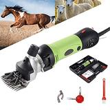LQQSD 690W Electric Farm Supplies Animal Grooming Shearing Clipper Sheep Goat Shears Electric Clippers, for Shaving Fur Wool in Sheep, Goats, Cattle, Farm Livestock Pet