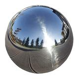 Stainless Steel Gazing Globe 12 Inch Durable Stainless Steel Gazing Ball Gazing Globe Mirror Ball Garden Sphere Metal Outdoor Mirrors Gazing Balls for Gardens On Clearance Home Ornament Decorations 5i
