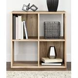 Signature Design by Ashley Furniture Bookcases & Bookshelves Brown - Brown Vaibryn Four-Cube Organizer