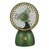 Govtal Green - Green 6.7'' Handheld/Desktop Portable Fan