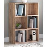 Signature Design by Ashley Furniture Bookcases & Bookshelves Natural - Natural Piperton Six-Cube Organizer