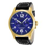 Invicta Men's Watches - Blue & Black I-Force Leather-Strap Watch
