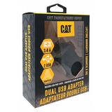 CAT CAT-AC2USB-BLK USB Wall Outlet Charger,Black