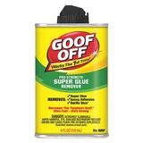 GOOF OFF FG678 Adhesive Remover,4 oz,Bottle