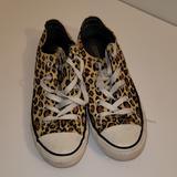 Converse Shoes | Leopard Print Converse Size 6 Womans | Color: Brown/Tan | Size: 6