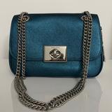 Coach Bags   Coach Leather Crossbody Bag   Color: Silver   Size: Os