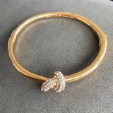 Kate Spade Jewelry   Kate Spade Gold Crystal Bracelet   Color: Gold   Size: Os