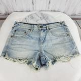 Free People Shorts | Free People Denim Cut Off Jean Shorts | Color: Blue | Size: 28