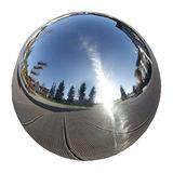 Stainless Steel Gazing Globe Durable Stainless Steel Gazing Ball Gazing Globe Mirror Ball Garden Sphere Metal Outdoor Mirrors Gazing Balls Floating Pond Balls For Gardens On Clearance Home Ornament De