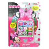 Minnie Mouse Toy Pretend Electronics - Minnie Mouse Why Hello! Sound Effect Cell Phone Toy
