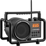 Sangean SG-102 Lunchbox Compact AM/FM Rugged Portable Radio (Iron Gray) SG-102