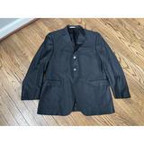 Burberry Suits & Blazers | Burberry Saks Fifth Avenue Black Wool Sport Coat | Color: Black | Size: 42r