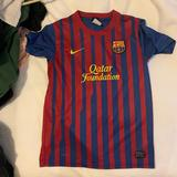 Nike Shirts   Barcelona Soccer Jersey   Color: Red   Size: L