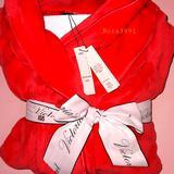 Victoria's Secret Intimates & Sleepwear   New Vs Cozy Robe Size Xss   Color: Red   Size: S