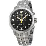 Prc 200 Chronograph Black Dial Watch T0554171105700 - Metallic - Tissot Watches
