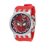 #1 LIMITED EDITION - Invicta Marvel Spiderman Quartz Men's Red Blue Black Silver Watch - 46mm - (34681-N1)