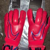 Nike Other   New Nike Gk Grip3 Soccer Goalie Gloves   Color: Black/Red   Size: Youth Size 8
