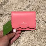 Kate Spade Bags | Kate Spade Piper Magnolia Credit Card Id Wallet | Color: Gold/Red | Size: Os