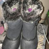 The North Face Shoes | North Face Womans Chilkat Winter Boots Size 7.5 | Color: Black/Purple | Size: 7.5