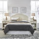 Provence White Queen Headboard & 2 Night Stands by Homestyles in White