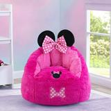 Delta Children Disney Minnie Mouse Cozee Figural Foam Upholstered in Pink, Size 21.0 H x 24.0 W x 22.0 D in | Wayfair UP83782MN-1063