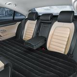 City Elves Inflatable Backseat Flocking Mattress Car SUV Travel w/ Pump in Black, Size 56.0 H x 36.0 W x 19.0 D in   Wayfair 86354021