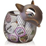ABS K-Cup Countertop Sculpture Holder For Keurig K-Cup Coffee Pods, Tea Bags, Creamers (Fox), Size 9.5 H x 9.5 W x 8.0 D in | Wayfair UKLW91210LHW