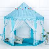 OLO Hexagonal Princess Tent in Gray, Size 53.15 W x 55.12 D in | Wayfair d17wfg00589