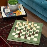 Trinx 8 Piece Multi-Game Set Wood in Brown, Size 2.25 H x 15.25 W x 8.0 D in | Wayfair G553