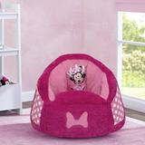 Delta Children Disney Minnie Mouse Cozee Fluffy Foam Upholstered in Pink, Size 21.0 H x 24.0 W x 22.0 D in | Wayfair UP83832MN-1063