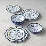 Clara Melamine 12-piece Dinnerware Set - Frontgate