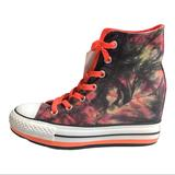 Converse Shoes | Converse Chuck Taylor All Star Wedge Women 6.5 | Color: Black/Red | Size: 6.5