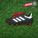 Adidas Shoes | Adidas Kids Goletto Vi Fg Soccer Futbol Cleats | Color: Black/Red | Size: 12