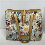 Dooney & Bourke Bags | Dooney And Bourke Disney Parks Large Tote | Color: Tan/White | Size: Os
